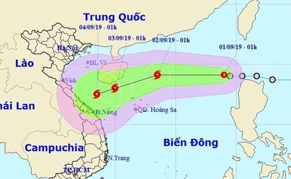 Áp thấp nhiệt đới đi vào Biển Đông, khả năng mạnh thành bão số 5-1