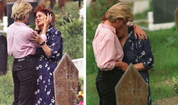 Câu chuyện phía sau khoảnh khắc Công nương Diana ôm một người mẹ xa lạ đang khóc trước mộ con chỉ vài tuần trước khi bà qua đời-2