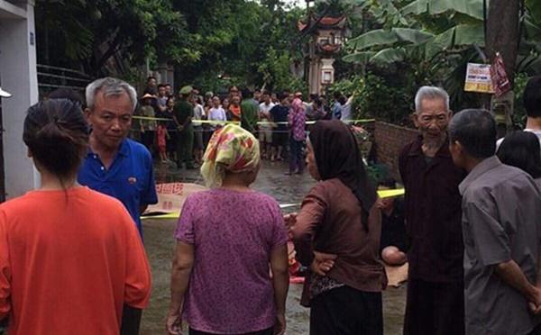 Thảm án ở Hà Nội làm 2 người chết, 3 người bị thương: Đông truy đuổi lại lực lượng công an-1