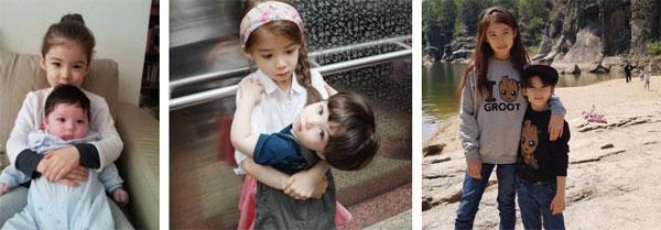 Cặp chị em con lai được mệnh danh đẹp nhất Hàn Quốc giờ đã lớn và có sự khác biệt rất nhiều về khoản nhan sắc-1