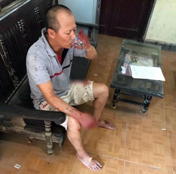 Hiện trường vụ anh truy sát gia đình em ruột khiến 5 người thương vong ở Hà Nội-9