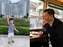 Con trai Việt Anh nghỉ lễ bình yên bên mẹ trong khi bố du lịch nước ngoài một mình