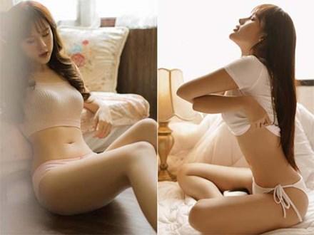 Bạn gái Trọng Đại sexy nóng bỏng trong phòng ngủ khiến dân mạng trầm trồ