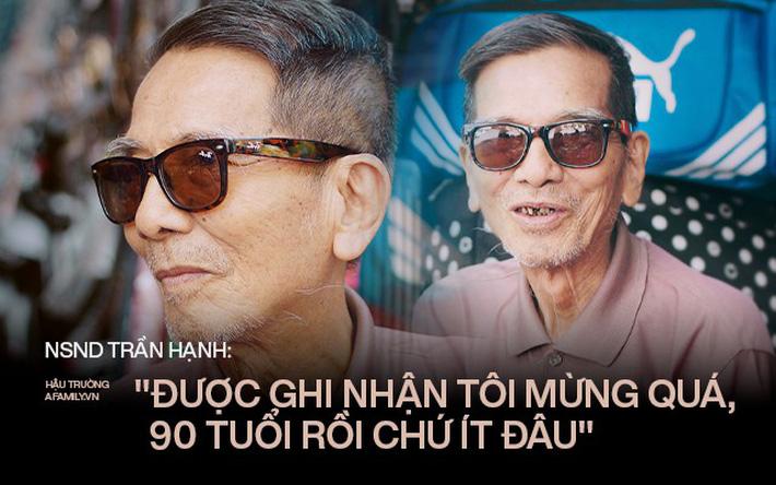 Người đàn ông khắc khổ nhất màn ảnh Việt NSND Trần Hạnh trải lòng về người vợ hay ghen và cuộc đời khó khăn của mình-1