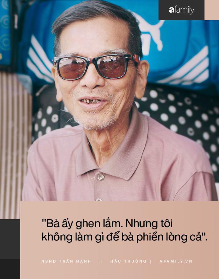 Người đàn ông khắc khổ nhất màn ảnh Việt NSND Trần Hạnh trải lòng về người vợ hay ghen và cuộc đời khó khăn của mình-2