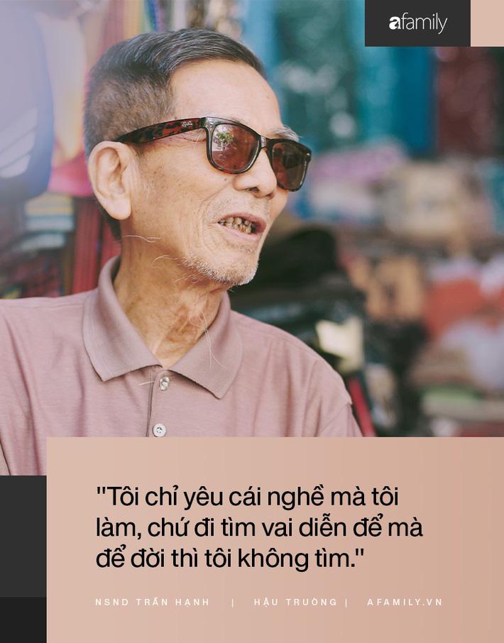 Người đàn ông khắc khổ nhất màn ảnh Việt NSND Trần Hạnh trải lòng về người vợ hay ghen và cuộc đời khó khăn của mình-9