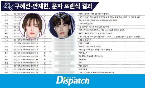 Dispatch công bố toàn bộ tin nhắn giữa Goo Hye Sun và Ahn Jae Hyun trong 1 năm trở lại đây, tiết lộ nhiều bí mật phía sau cuộc hôn nhân ngôn tình-2