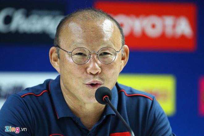 HLV Park: Chúng ta chơi được Thái Lan, không có gì phải ngại-1