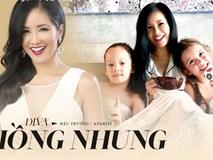 Hậu ly hôn, diva Hồng Nhung chứng tỏ cuộc sống mẹ đơn thân tuyệt vời không cần đến đàn ông