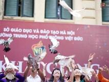 Ngôi trường THPT ở Hà Nội được khen ngợi hết lời vì thả chim bồ câu thay vì thả bóng bay ngày khai giảng để tránh ô nhiễm môi trường