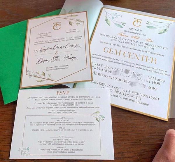 Đám cưới con gái của đại gia Minh Nhựa gây tranh cãi khi tuyên bố Không phục vụ trẻ em dưới 3 tuổi-4
