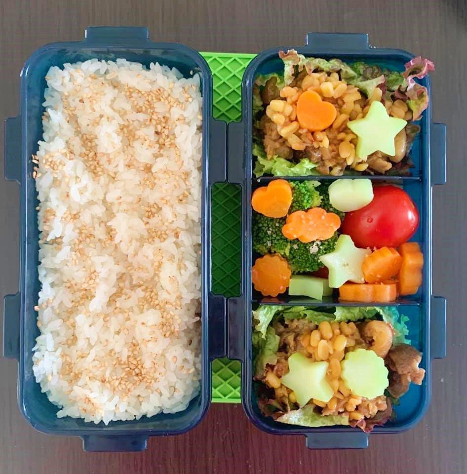Bận chăm 2 con, 8X vẫn đều đặn làm hộp cơm trưa đẹp hoa mắt cho chồng đầy ắp thịt-4