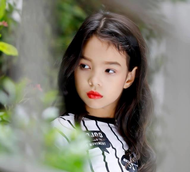 Những thiên thần lai xinh đẹp, tài năng của làng mẫu nhí Việt-13