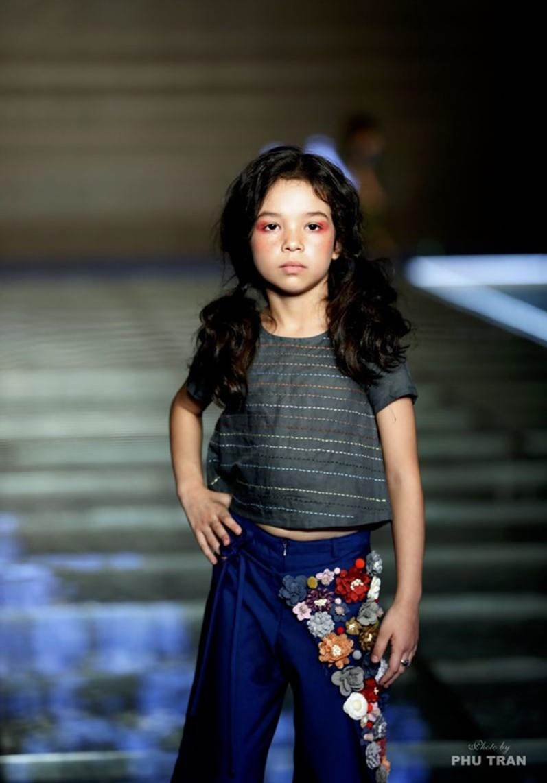 Những thiên thần lai xinh đẹp, tài năng của làng mẫu nhí Việt-14