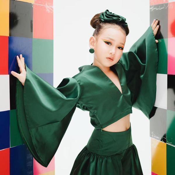 Những thiên thần lai xinh đẹp, tài năng của làng mẫu nhí Việt-5