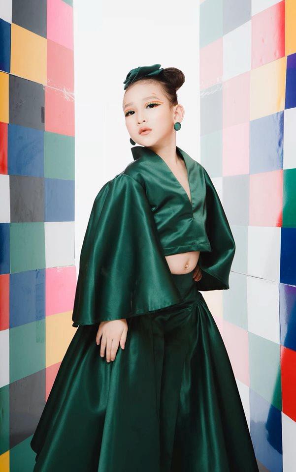 Những thiên thần lai xinh đẹp, tài năng của làng mẫu nhí Việt-6