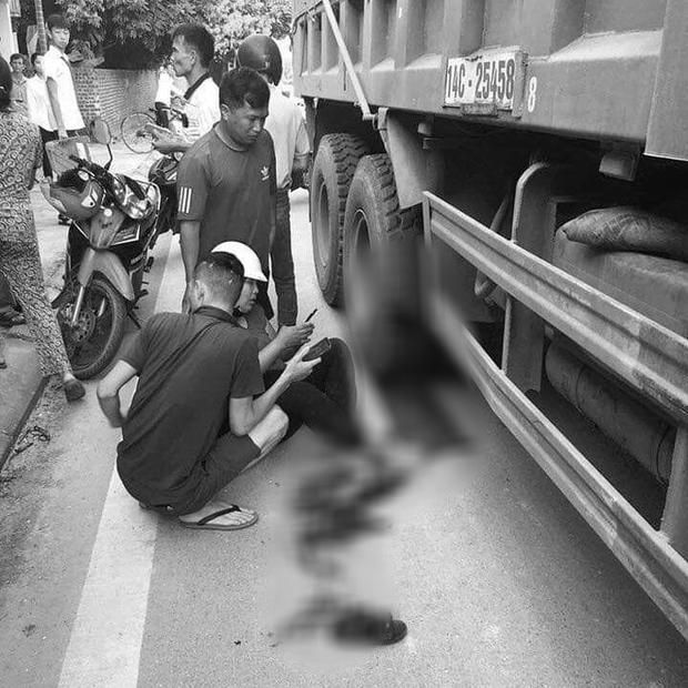 Mẹ cùng con gái 8 tuổi bị xe tải cuốn vào gầm trên đường đi khai giảng-1