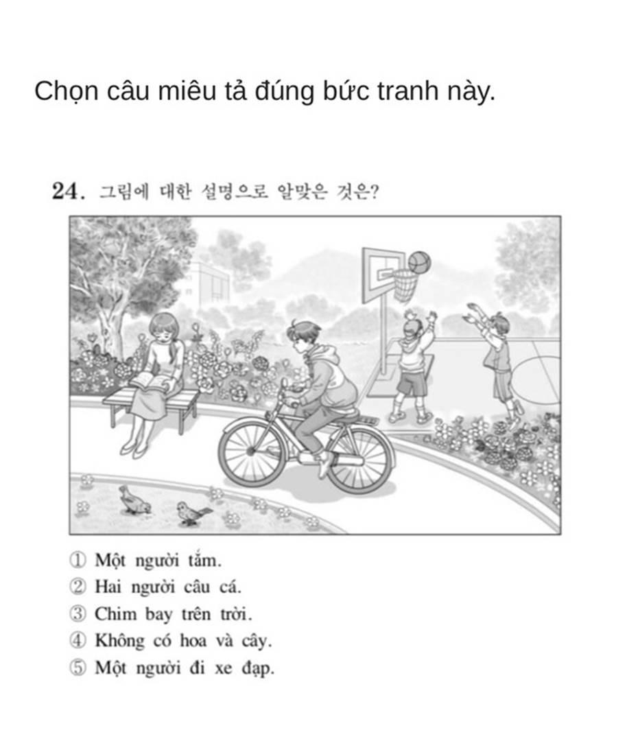 Bạn biết không, thi Đại học ở Hàn Quốc có môn Tiếng Việt và đây là đề thi siêu khó của năm nay-10