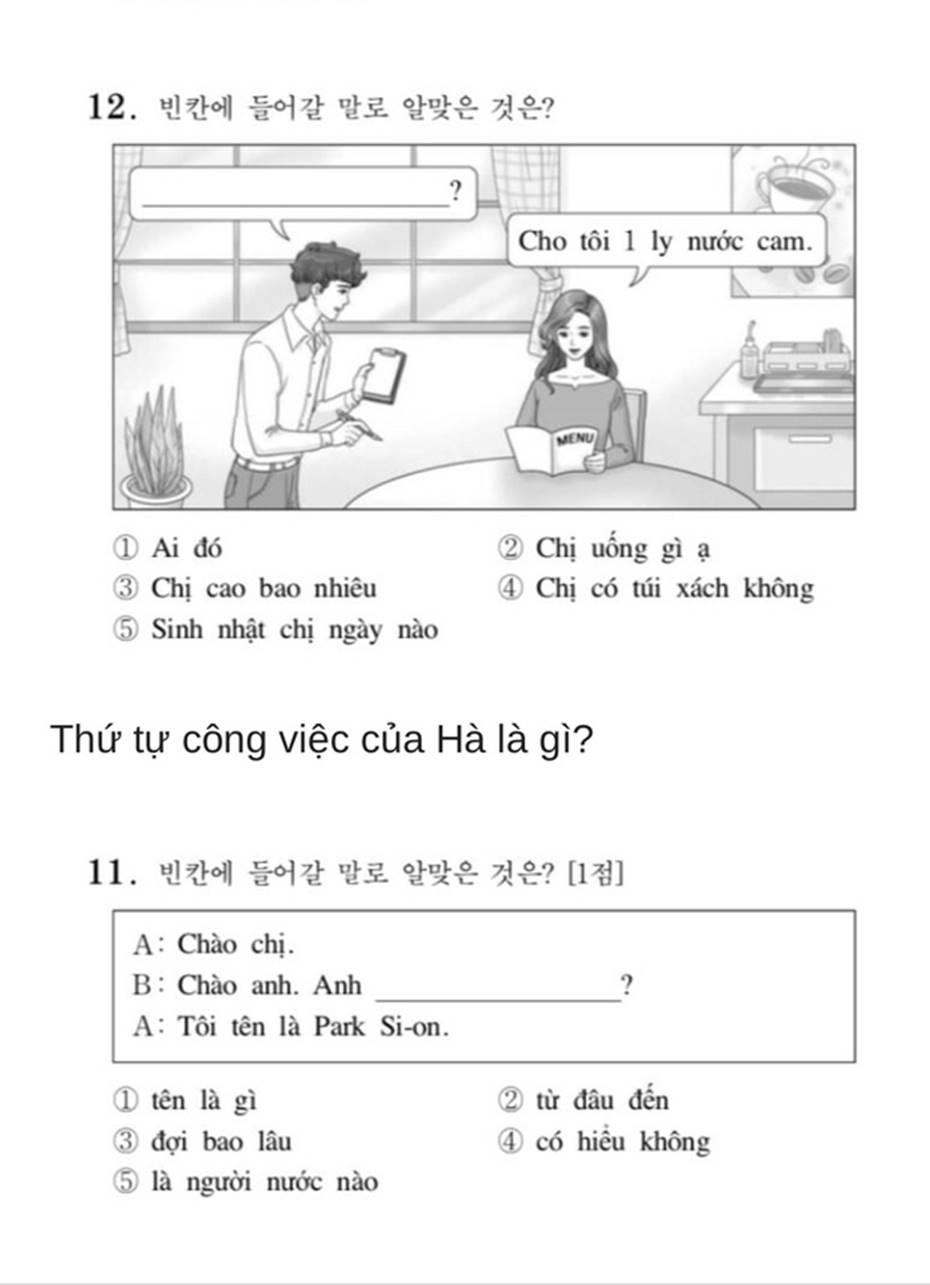 Bạn biết không, thi Đại học ở Hàn Quốc có môn Tiếng Việt và đây là đề thi siêu khó của năm nay-5