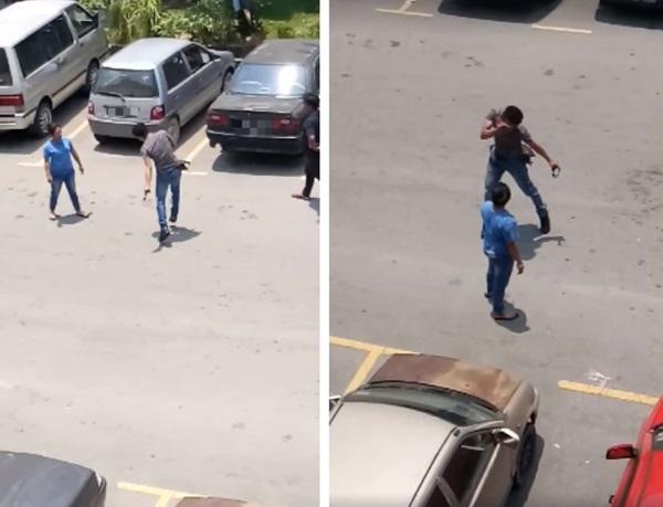 Cãi nhau kịch liệt giữa đường, chồng không lao vào đánh vợ mà... tự tát chính mình hơn chục cái đau điếng-2