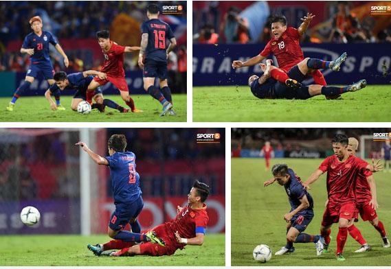 Công Phượng trò chuyện, nắm chặt tay Messi Thái Lan trước những cái nhìn kỳ lạ của đồng đội-9
