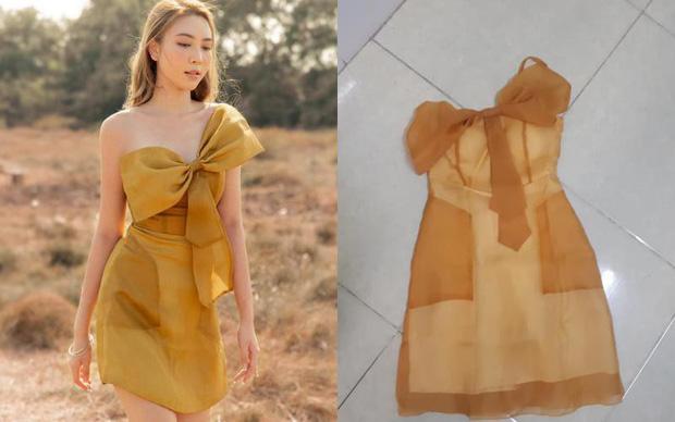 Cô gái chi 520k mua váy vẫn vớ phải hàng fake trông như nùi giẻ, cạn lời khi biết đồ xịn có giá hơn 3,7 triệu!-1