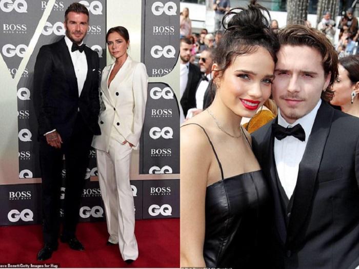 Vợ chồng Beckham nhẹ nhõm vì con trai chia tay bạn gái người mẫu-1