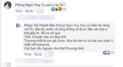 Ốc Thanh Vân giải vây cho Phùng Ngọc Huy khi nam ca sĩ bị chỉ trích vô tâm với Mai Phương lúc gian khó-3