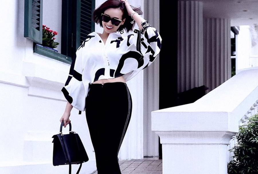 Lã Thanh Huyền tái xuất với loạt váy áo cắt xẻ táo bạo và gợi cảm-3