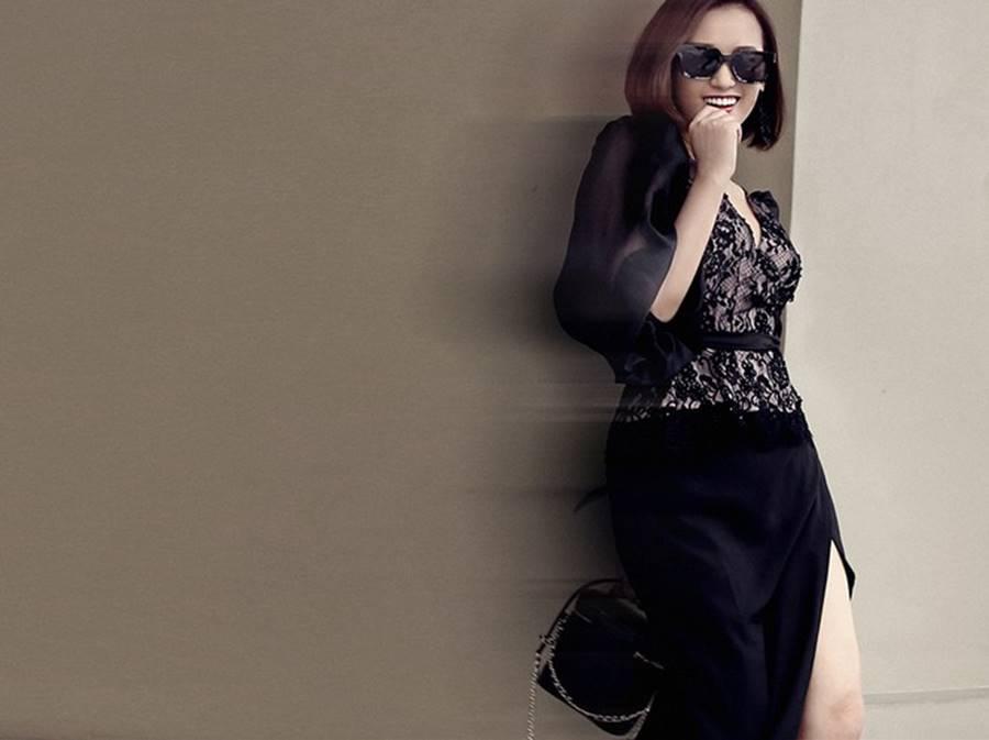 Lã Thanh Huyền tái xuất với loạt váy áo cắt xẻ táo bạo và gợi cảm-5