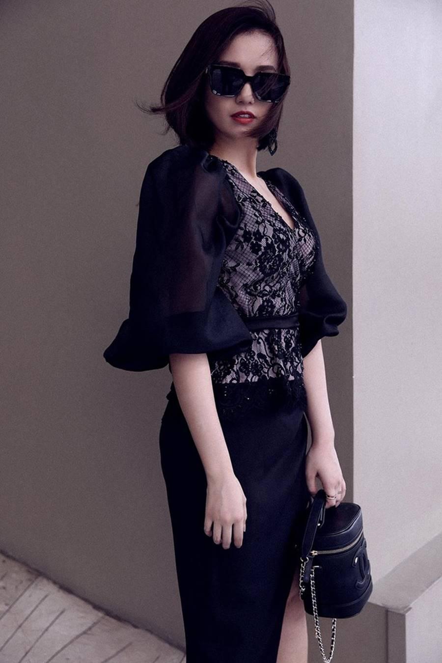 Lã Thanh Huyền tái xuất với loạt váy áo cắt xẻ táo bạo và gợi cảm-8