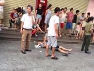 Tiếng nổ lớn lại chung cư HH Linh Đàm, 3 người bị thương nghi sau khi mở 'hộp quà'