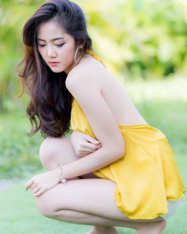Hot girl quyến rũ bậc nhất Thái Lan mặc áo dây đẹp thứ 2 thì ít ai tranh số 1-17