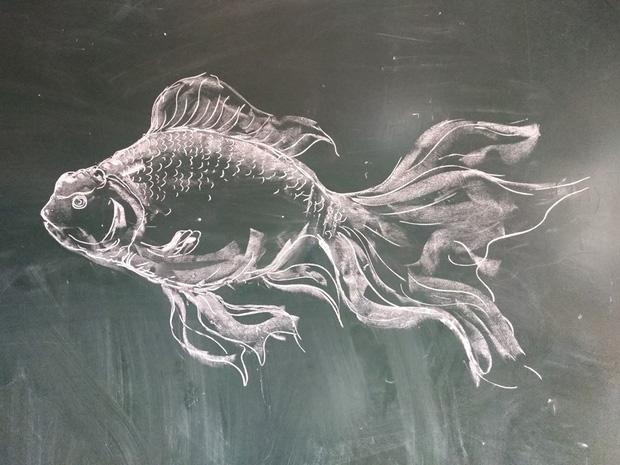 Thầy giáo trổ tài vẽ tranh bằng phấn, dân tình thán phục: Đẹp quá chẳng nỡ xóa đi!-2