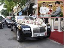 HOT: Toàn cảnh lễ đưa dâu toàn siêu xe hơn 100 tỷ của con gái đại gia Minh Nhựa, quà cưới toàn vàng, kim cương đeo