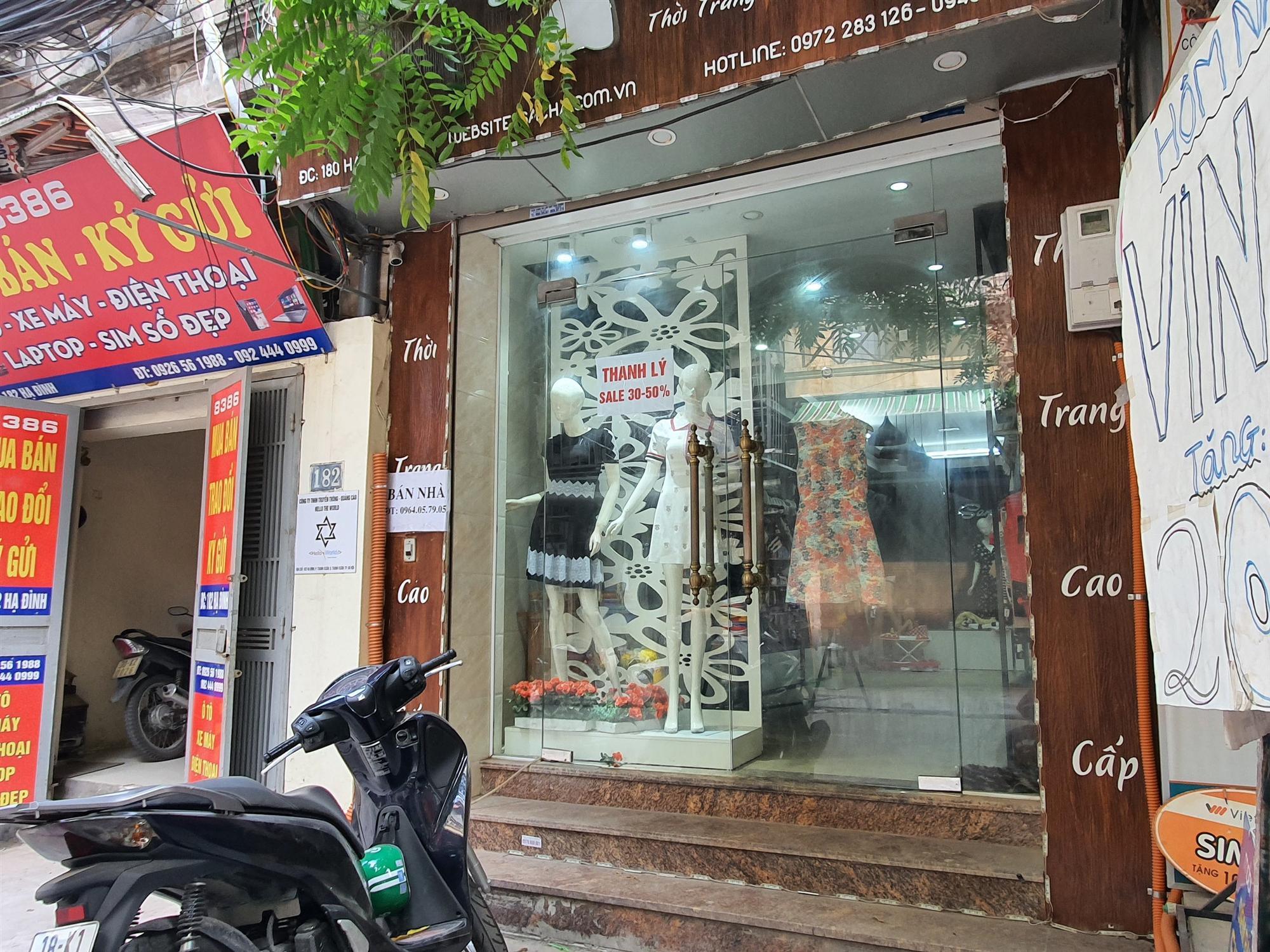 Hàng quán đóng cửa sang nhượng, dân quanh khu Rạng Đông thi nhau bán nhà-1