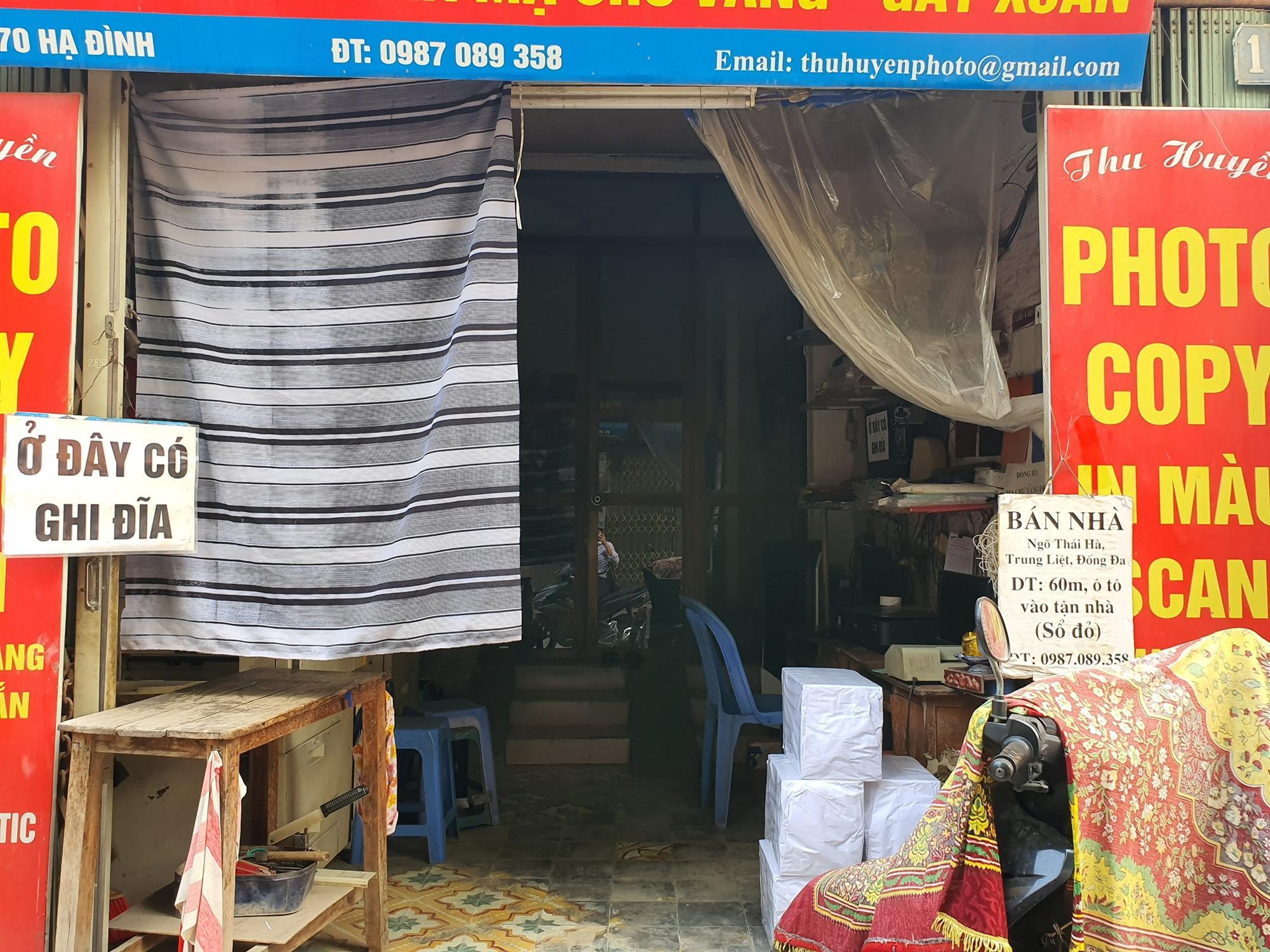Hàng quán đóng cửa sang nhượng, dân quanh khu Rạng Đông thi nhau bán nhà-5