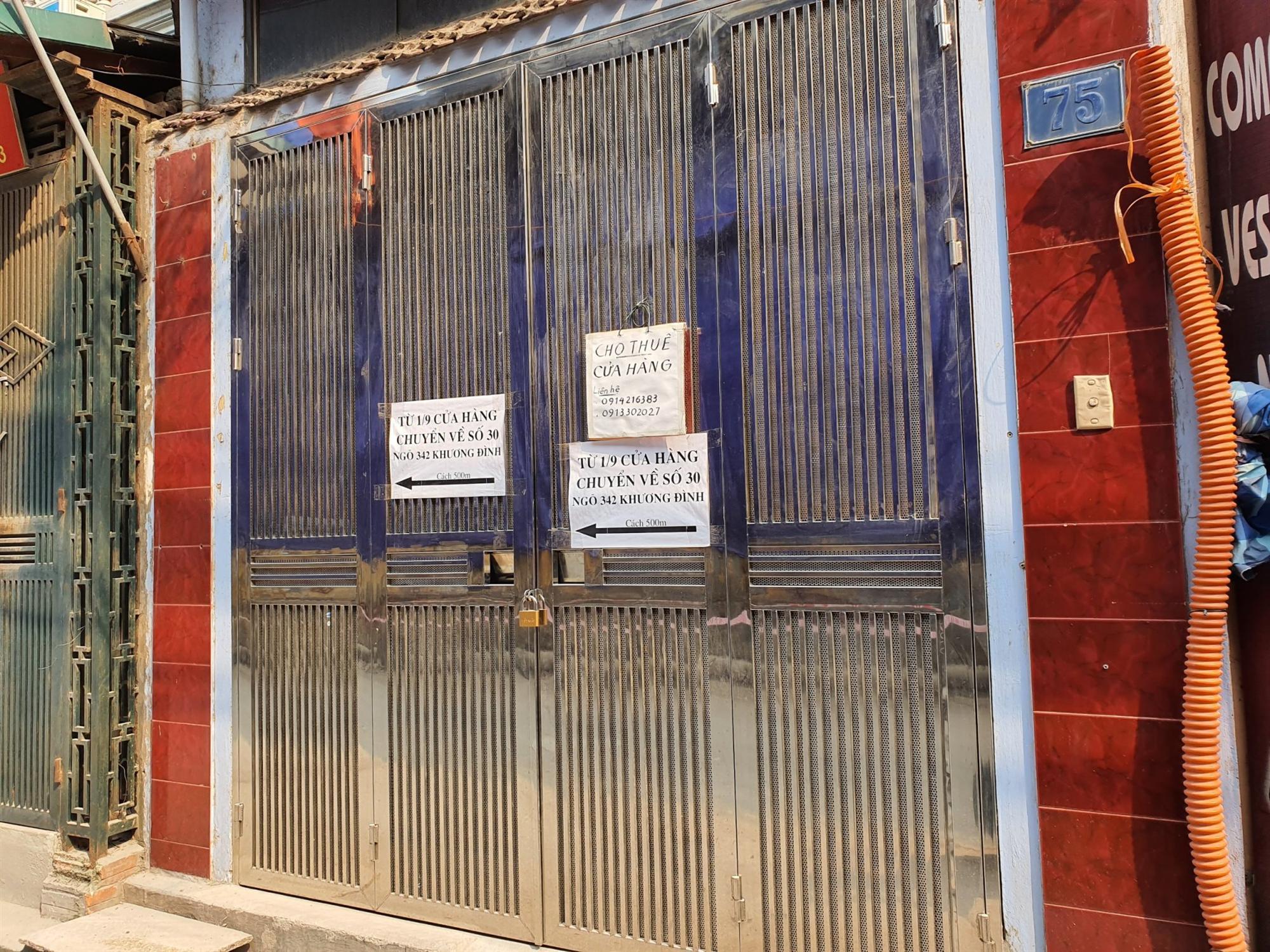 Hàng quán đóng cửa sang nhượng, dân quanh khu Rạng Đông thi nhau bán nhà-6