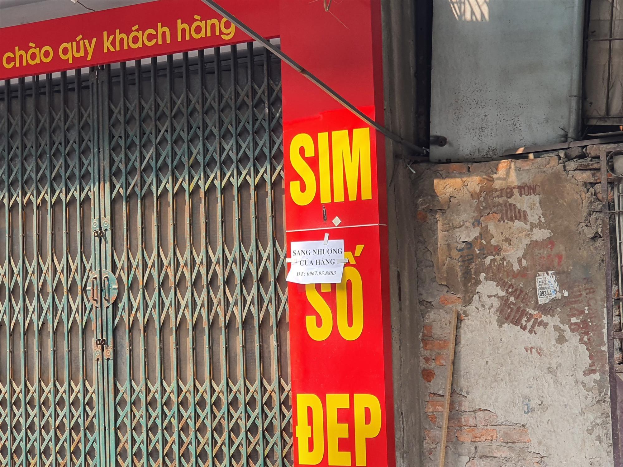 Hàng quán đóng cửa sang nhượng, dân quanh khu Rạng Đông thi nhau bán nhà-8
