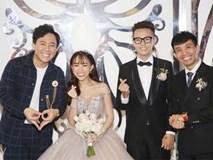 Dàn khách mời cực khủng với Trấn Thành làm MC, đại gia Phan Thành, Ưng Hoàng Phúc,... đều đến chúc mừng ái nữ Minh Nhựa