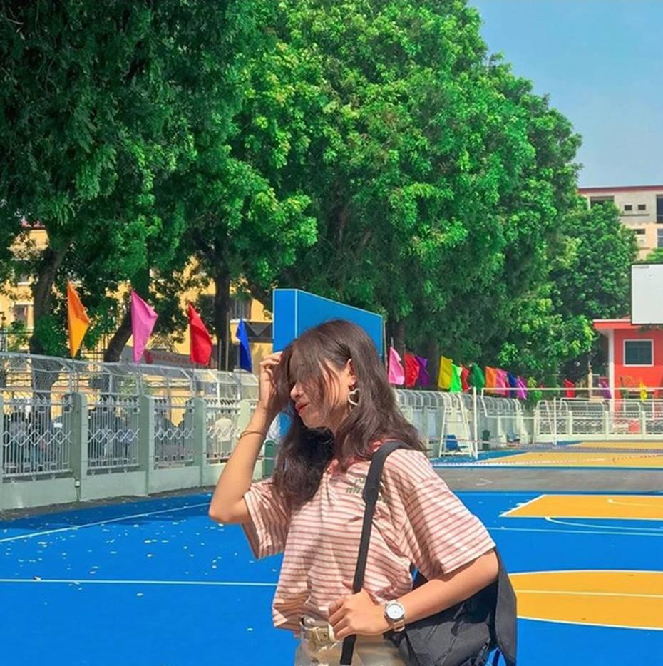 Đang yên đang lành đi sơn mỗi toà một màu sắc, đủ cả xanh đỏ tím vàng: ĐH Hà Nội muốn trở thành trường màu mè hoa lá nhất Việt Nam?-12