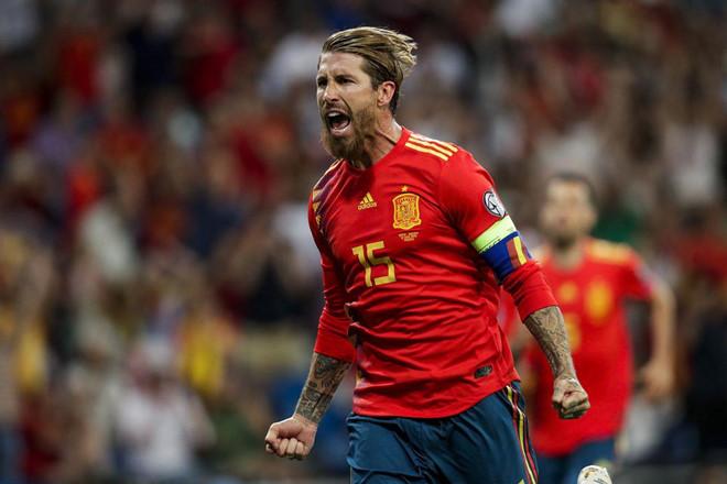 Sergio Ramos đi vào lịch sử bóng đá Tây Ban Nha-1