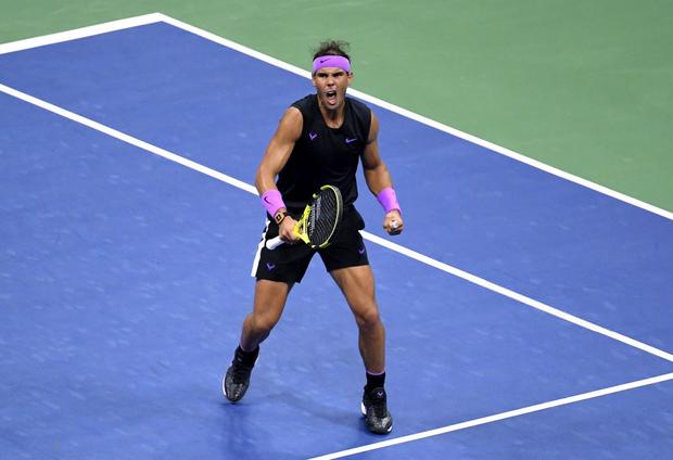 Nadal giành Grand Slam thứ 19 sau chiến thắng kịch tính ở chung kết US Open-2