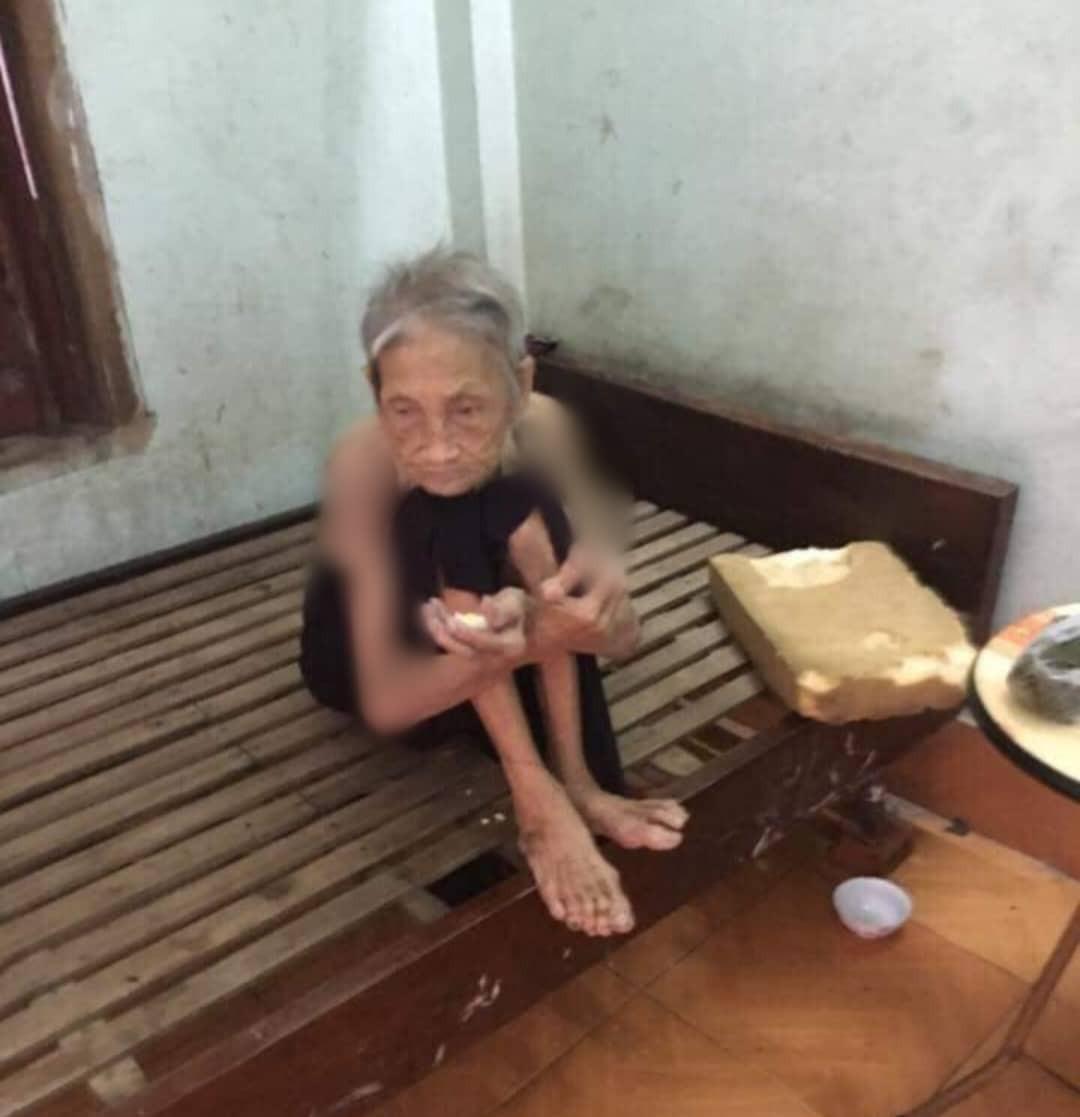 Vụ vợ chồng con trai bị tố nhốt mẹ 87 tuổi ở chuồng bò: Mẹ từng xin ăn nuôi con khôn lớn-2