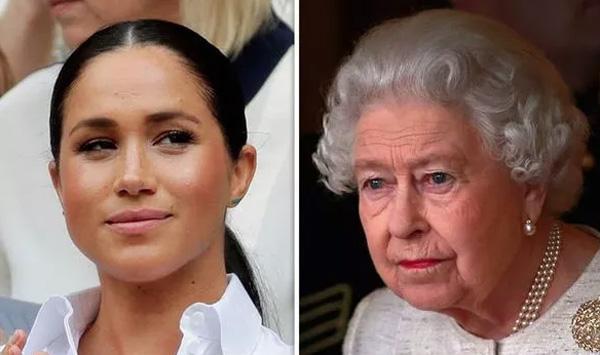 Nữ hoàng Anh cảm thấy tổn thương và thất vọng về cháu dâu Meghan Markle-1