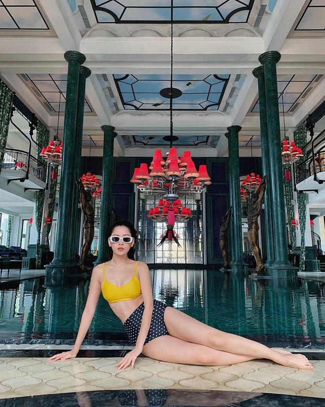 Quỳnh Anh Shyn, Chi Pu rủ nhau mặc bikini, Châu Bùi diện toàn đồ hiệu-1
