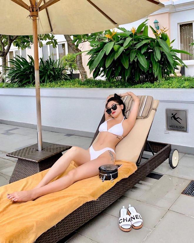 Quỳnh Anh Shyn, Chi Pu rủ nhau mặc bikini, Châu Bùi diện toàn đồ hiệu-3