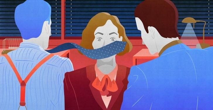 Đối phó với những kẻ quấy rối tình dục nơi công sở, dù có là sếp chị em cũng tuyệt đối đừng cam chịu!-3