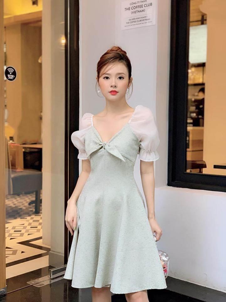 Midu chuộng style nữ tính, mặc đồ hở vừa đủ khoe vai thon-3