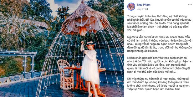 Mina Phạm - vợ 2 đại gia Minh Nhựa lại bị soi thêm loạt caption sống ảo dài như cả bài văn, đọc đến đâu là thấy quen quen đến đó!-6